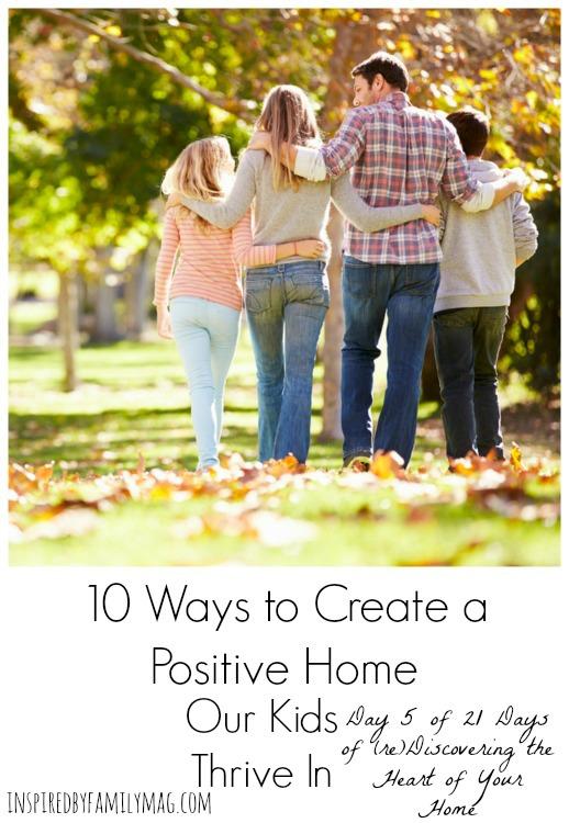 create-a-postive-home