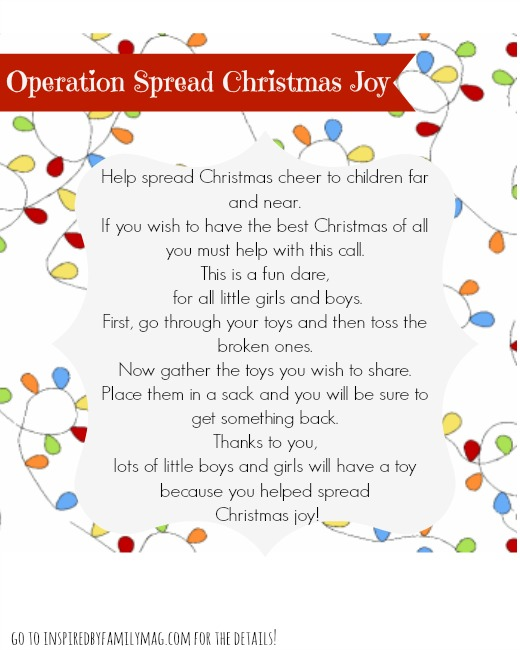 Help Your Kids Give Back with This Fun Christmas Activity