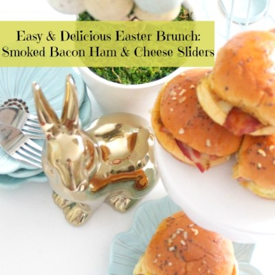 Easy & Delicious Easter Lunch Idea: Hatfield Ham, Bacon & Cheese Sliders