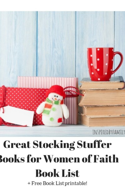 Great Stocking Stuffer Books for Women of Faith Book List