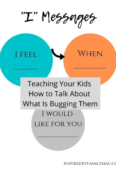 Teaching Your Kids How to Talk About What Is Bugging Them