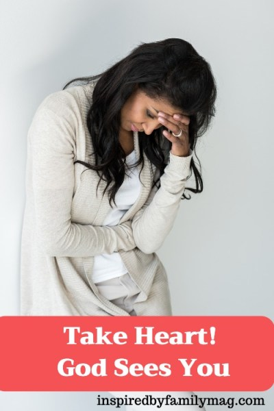 Take Heart! God Sees You and Calls You By Name
