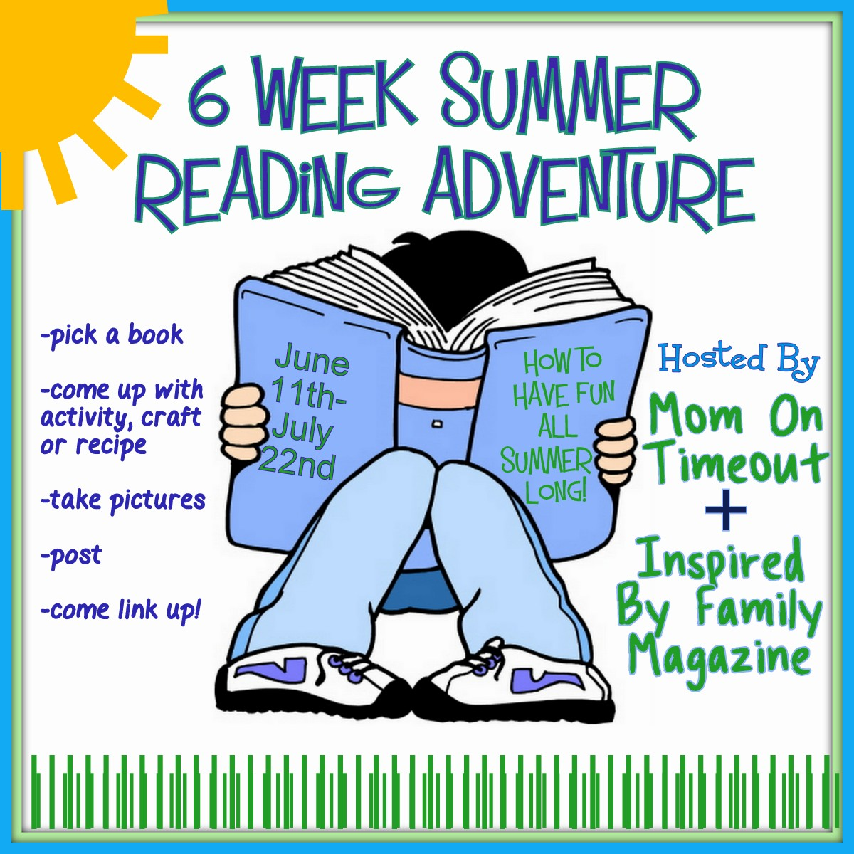 6 Week Summer Reading Adventure