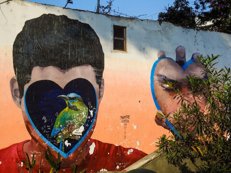 Jade Rivera Art in Barranco, Peru