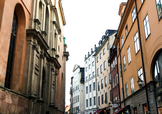 Stockholm Sweden Views in Street