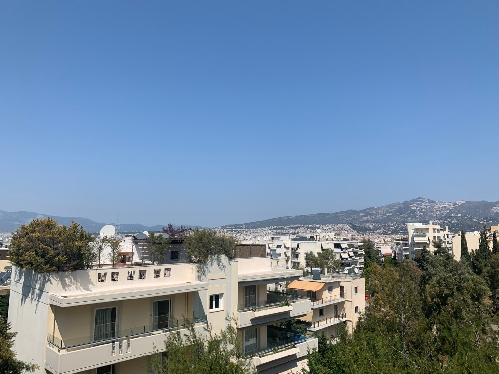 Views from Airbnb in Athens