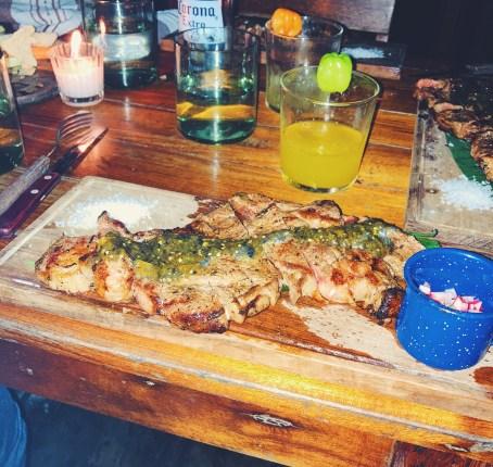 Carne Asada Steak at Gitano