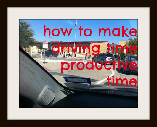 Making Driving Time Productive