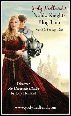 Jody Hedlund's Noble Knights Blog Tour