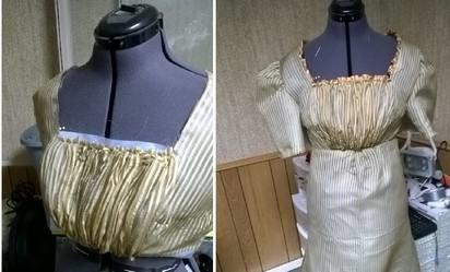 LRgold dress