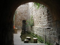 Hezekiah's Tunnel and Gihon Spring