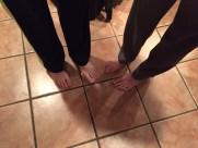 Valentines Feet