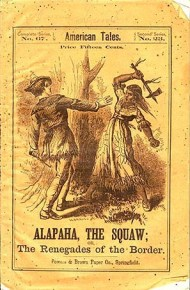 Alapaha, the squaw, or, The renegades of the border      Gerstäcker, Friedrich, 1816-1872. Publisher: Beadle and Company,  Pub date: c1870.  Pages: [5]-98 p. ;  Item info: 1 copy available at Special Collections. 1 copy total in all locations.    Holdings Special Collections  Copies  Material  Location   PT1885 .G7 R4214 1870  1  RAREBOOK  Special Collections SC-STKS