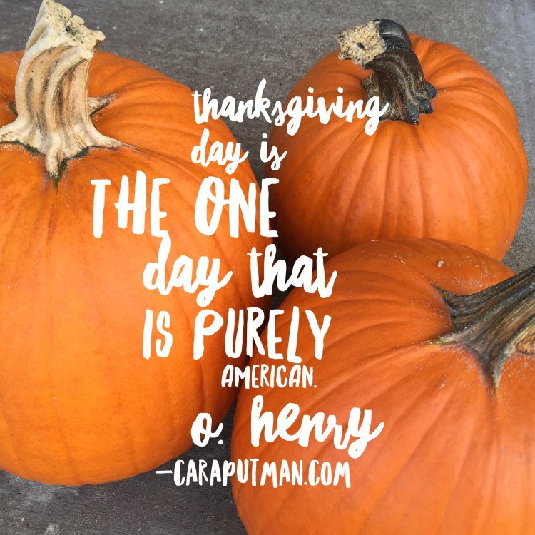 Thanksgiving: I'm Grateful for Writing & You