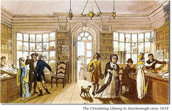 Libraries in Jane Austen's Day