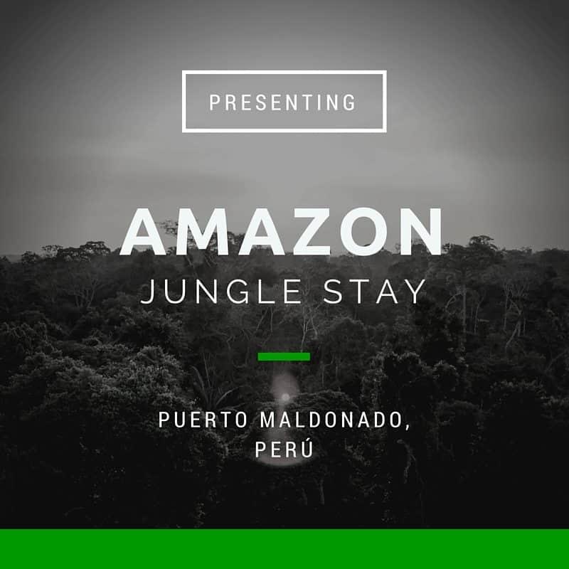 Amazon Jungle Stay