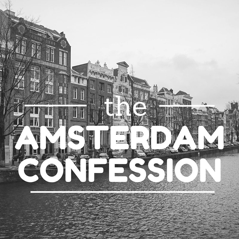 AMSTERDAMConfession