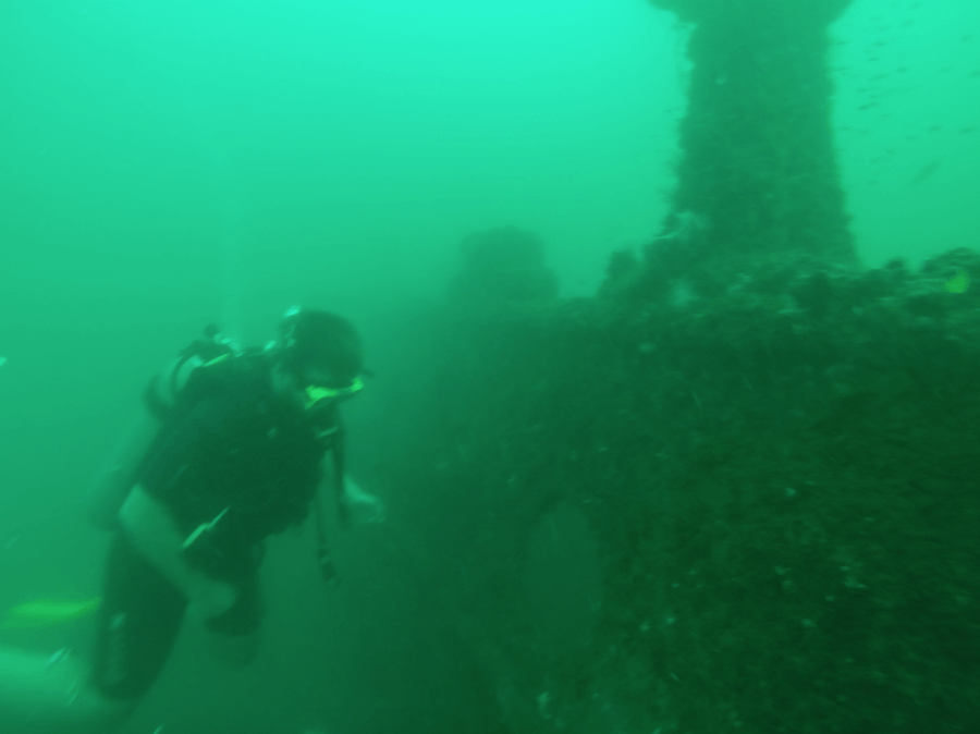 Wreck Diving Brunei