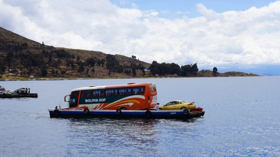 travelling around peru on a hop on hop off peru hop bus!
