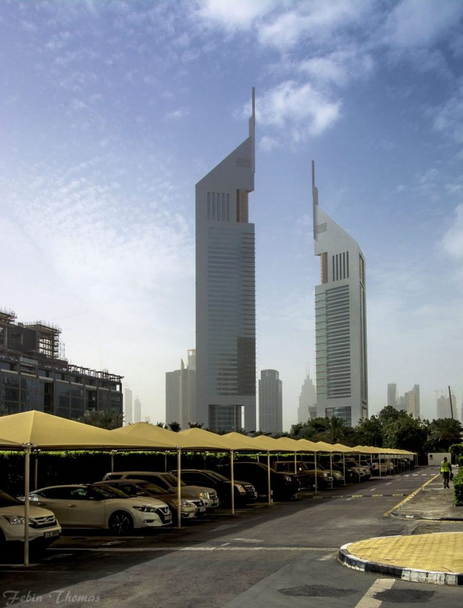 Jumeirah Emirates Towers Hotel Dubai Architecture Guide United Arab Emirates