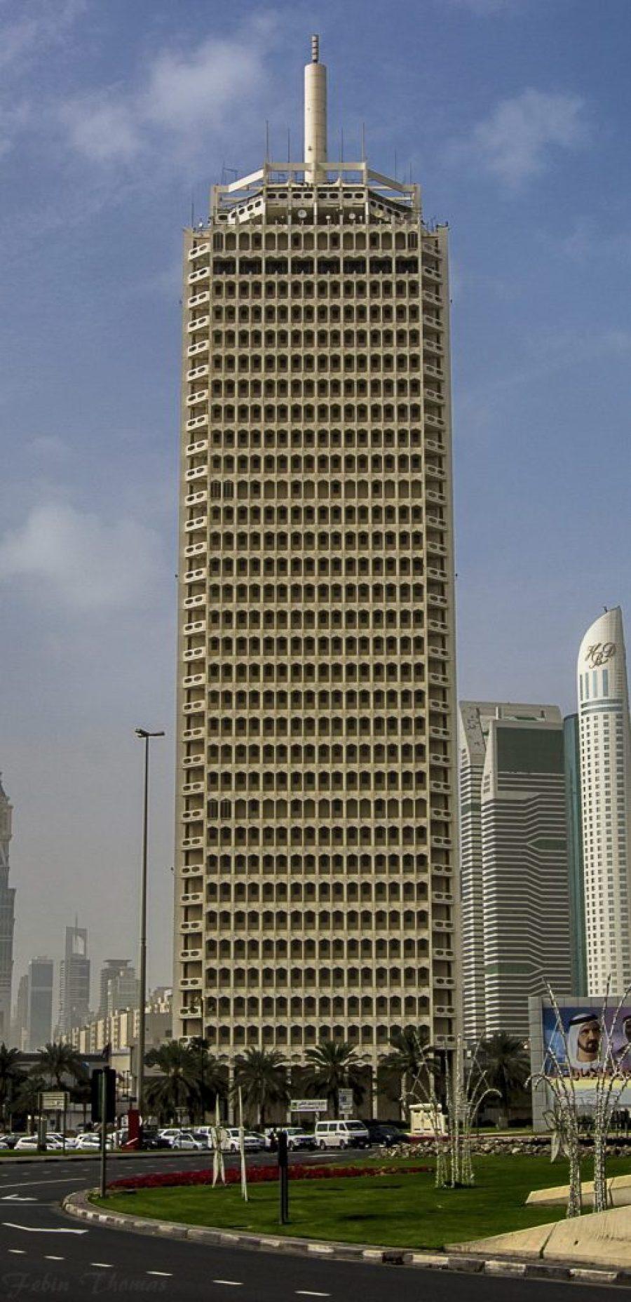 Sheikh Rashid Tower Dubai Architecture Guide United Arab Emirates