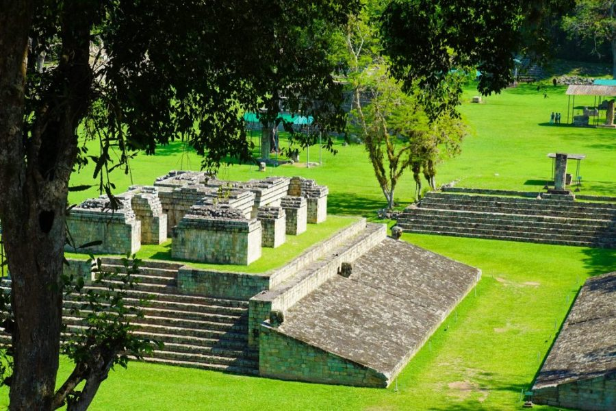Copan Main Plaza UNESCO