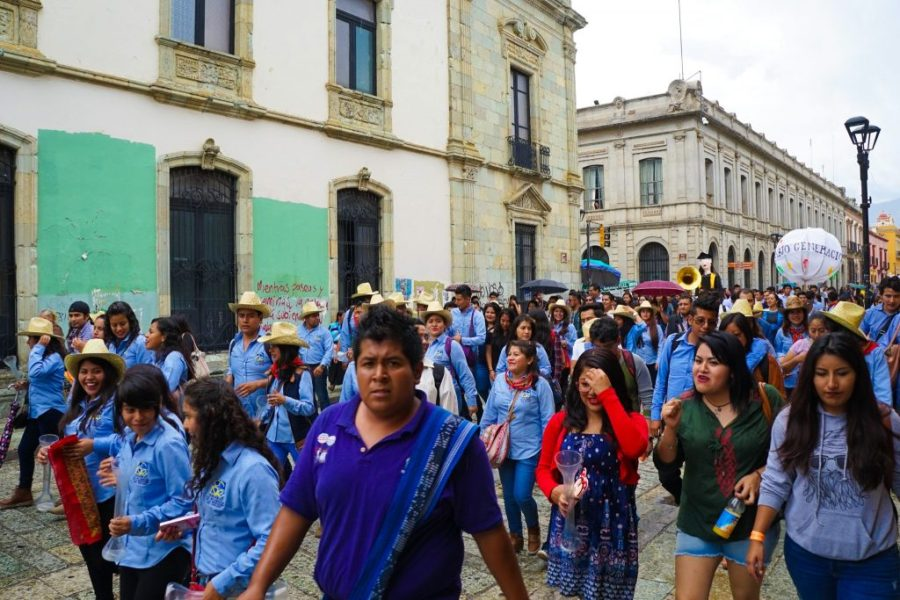 visit oaxaca city - street life
