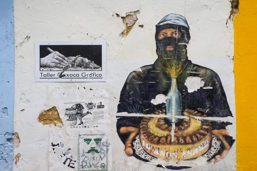 oaxaca city travel guide - Oaxaca Street Art