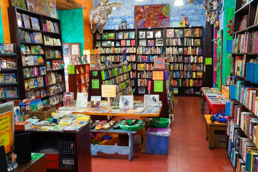 what to do oaxaca city Amate Bookstore