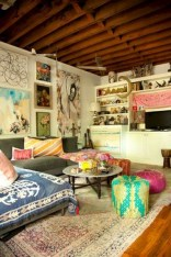 38+ Luxury Boho Chic Home and Apartment Decor Ideas 08