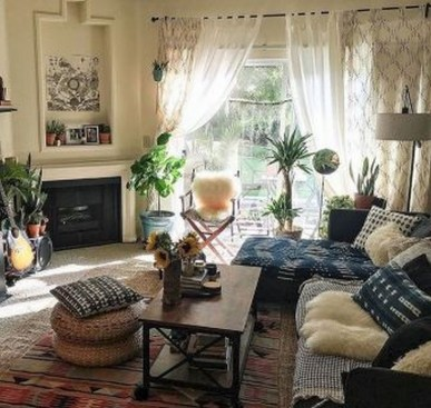 38+ Luxury Boho Chic Home and Apartment Decor Ideas 39