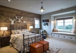 48+ beautiful Farmhouse Style Master Bedroom Ideas 49