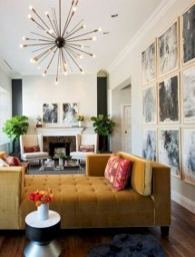 52+ Amazing Mid Century Living Room Decor Ideas 06