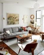 52+ Amazing Mid Century Living Room Decor Ideas 30