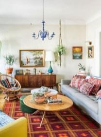 52+ Amazing Mid Century Living Room Decor Ideas 32