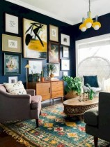 52+ Amazing Mid Century Living Room Decor Ideas 34