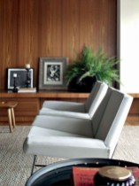 52+ Amazing Mid Century Living Room Decor Ideas 35