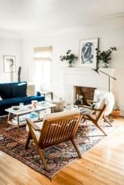 52+ Amazing Mid Century Living Room Decor Ideas 37