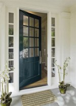 25+ Awesome Farmhouse Exterior Front Door Ideas (1)