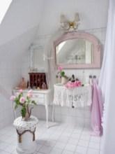 25+ Beautiful Shabby Chic Romantic Bathroom Ideas (10)