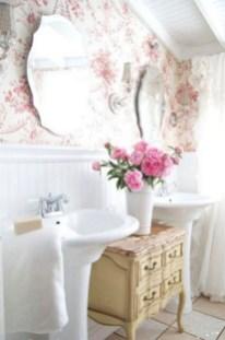 25+ Beautiful Shabby Chic Romantic Bathroom Ideas (12)