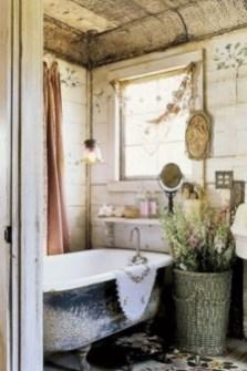 25+ Beautiful Shabby Chic Romantic Bathroom Ideas (15)
