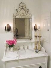 25+ Beautiful Shabby Chic Romantic Bathroom Ideas (22)