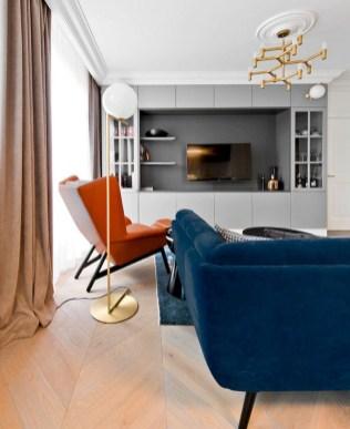 43+ Comfy Apartment Living Room Designs Ideas Trends 2018 (42)