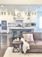 50+ Amazing Modern Farmhouse Kitchen Cabinets Decor Ideas 11