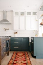 50+ Amazing Modern Farmhouse Kitchen Cabinets Decor Ideas 28