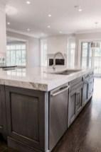 70+ Amazing Farmhouse Gray Kitchen Cabinet Design Ideas 04