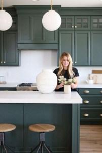 70+ Amazing Farmhouse Gray Kitchen Cabinet Design Ideas 05