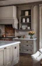 70+ Amazing Farmhouse Gray Kitchen Cabinet Design Ideas 16