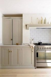 70+ Amazing Farmhouse Gray Kitchen Cabinet Design Ideas 18